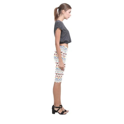 Image of Pattern Design 3 All-Over Cropped Leggings (Model L03)-Leggings-JEFAMO