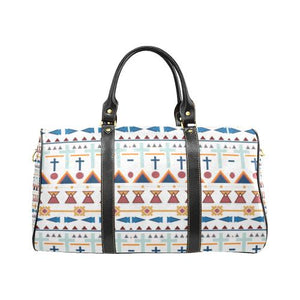 Pattern Design 3 Travel Bag Black (Small) (Model1639)