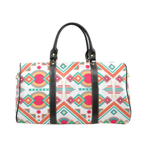 Pattern Design 7 Travel Bag Black (Small) (Model1639)
