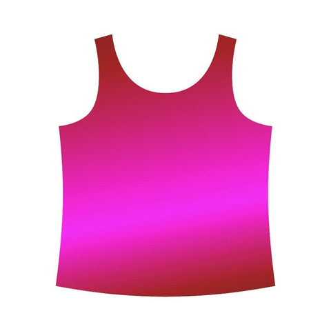 Image of Pink Design 1 Women's All Over Print Tank Top-Tank Tops-JEFAMO