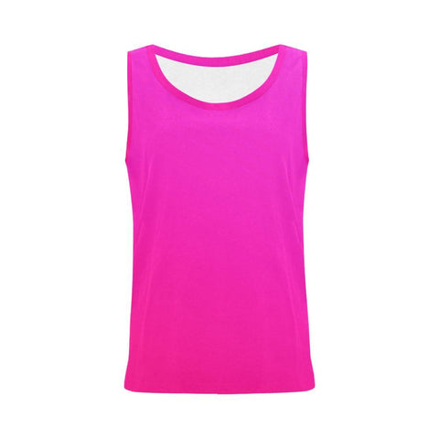 Image of Pink Design 2 Women's All Over Print Tank Top-Tank Tops-JEFAMO