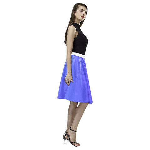Image of Plum Design 1 Women's Pleated Midi Skirt-Skirts-JEFAMO
