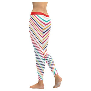 Psycadelic Patterns 10 All-Over Low Rise Leggings (Model L05)