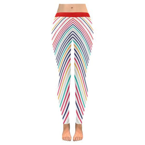 Psycadelic Patterns 10 All-Over Low Rise Leggings (Model L05)-Leggings-JEFAMO