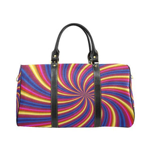 Psycadelic Patterns 2 Travel Bag Black (Small) (Model1639)