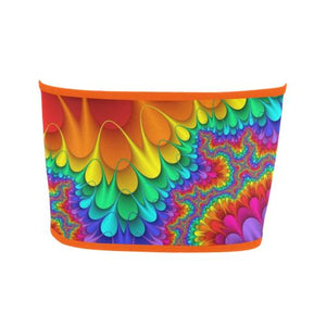 Psycadelic Patterns 3 Bandeau Top