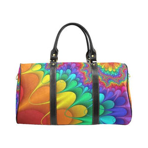 Psycadelic Patterns 3 Travel Bag Black (Small) (Model1639)