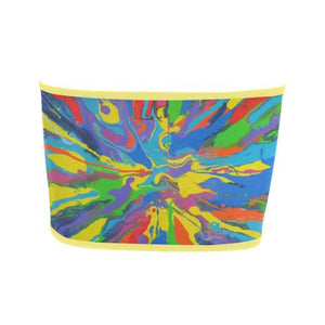 Psycadelic Patterns 4 Bandeau Top