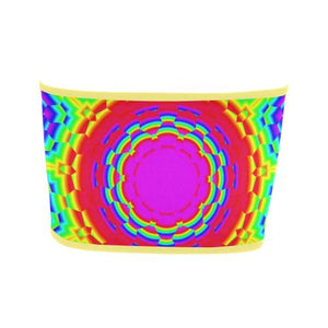 Psycadelic Patterns 6 Bandeau Top