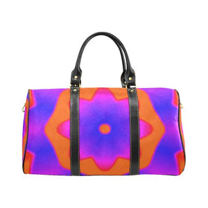 Psycadelic Patterns 7 Travel Bag Black (Small) (Model1639)