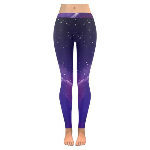 Psycadelic Patterns 8 All-Over Low Rise Leggings (Model L05)-Leggings-JEFAMO