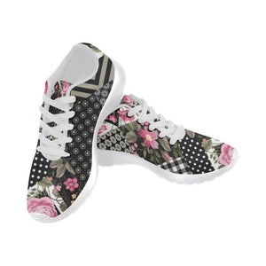 Rose Print Design 1 Women's Sneakers