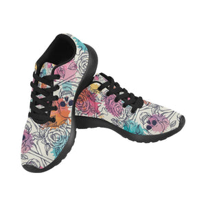 Skull & Roses Design 2 Women's Sneakers