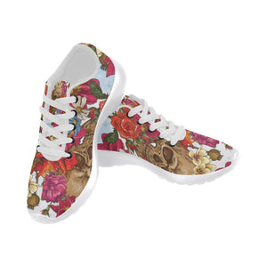 Skull & Roses Design 3 Women's Sneakers
