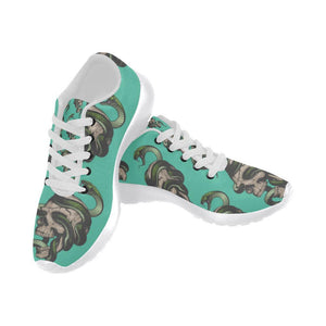 Skull & Snakes Design 1 Women's Sneakers