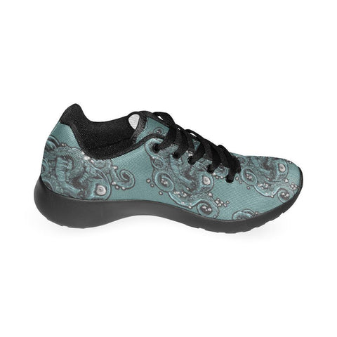 Image of Skulls & Squids Design 1 Women's Sneakers-Sneakers-JEFAMO