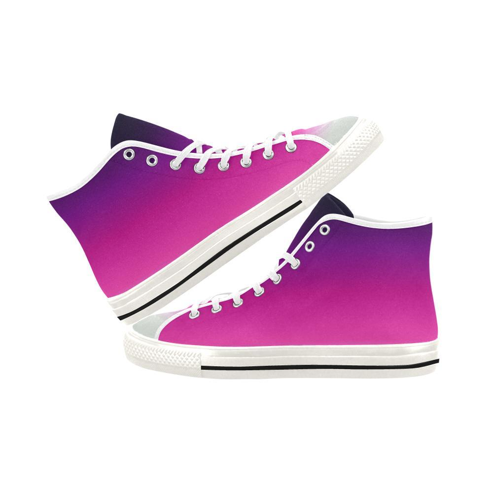 Soft Cherish Design 1 Vancouver High Top Canvas Women's Shoes-Canvas Shoes-JEFAMO