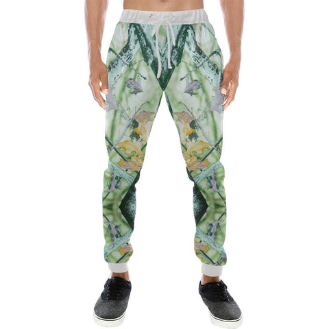 Image of True Woods Design 1 Men's All Over Print Casual Jogger Pants-Pants-JEFAMO