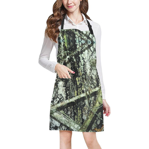 Image of True Woods Design 2 All Over Print Adjustable Apron-Aprons-JEFAMO
