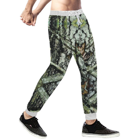 Image of True Woods Design 2 Men's All Over Print Casual Jogger Pants-Pants-JEFAMO