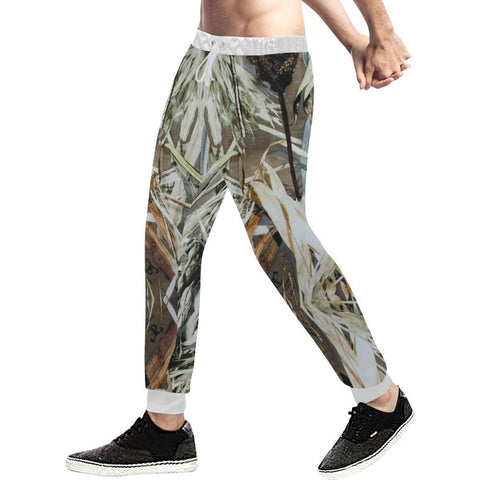 Image of True Woods Design 4 Men's All Over Print Casual Jogger Pants-Pants-JEFAMO