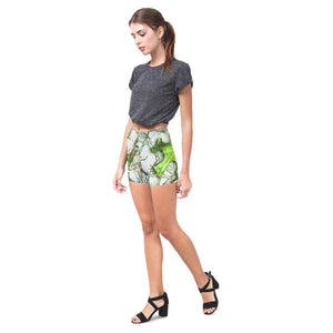 True Woods Design 6 All-Over Skinny Shorts