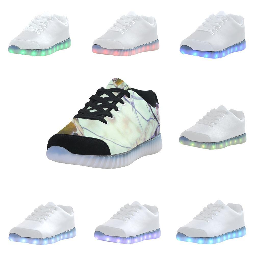 Designer Light Up Rechargeable Led Sneakers Jefamo