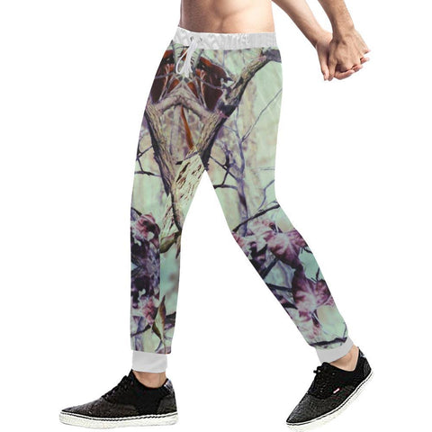Image of True Woods Design 7 Men's All Over Print Casual Jogger Pants-Pants-JEFAMO