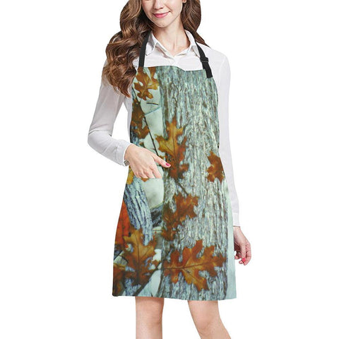 Image of True Woods Design 8 All Over Print Adjustable Apron-Aprons-JEFAMO