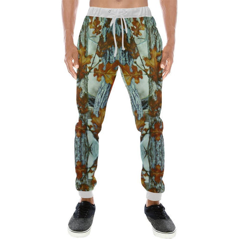 Image of True Woods Design 8 Men's All Over Print Casual Jogger Pants-Pants-JEFAMO