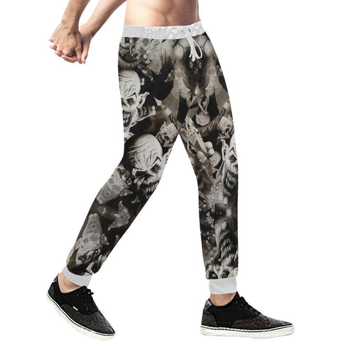 Image of UK Clowns Men's All Over Print Casual Jogger Pants-Pants-JEFAMO