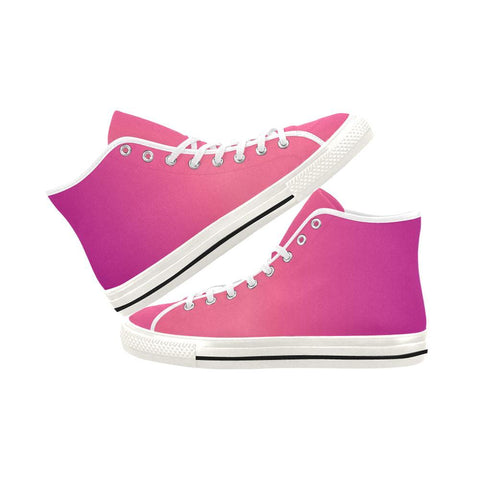 Image of Young Passion Design 1 Vancouver High Top Canvas Women's Shoes-Canvas Shoes-JEFAMO