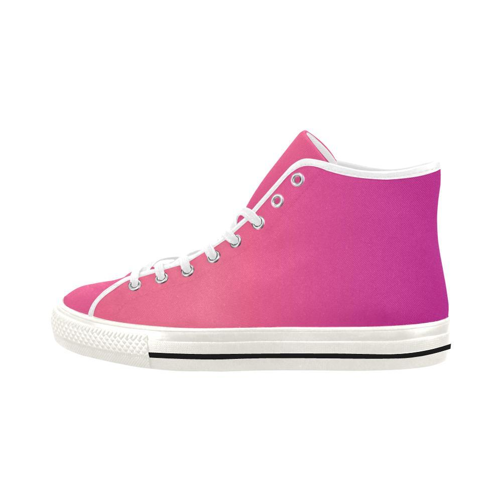 Young Passion Design 1 Vancouver High Top Canvas Women's Shoes-Canvas Shoes-JEFAMO