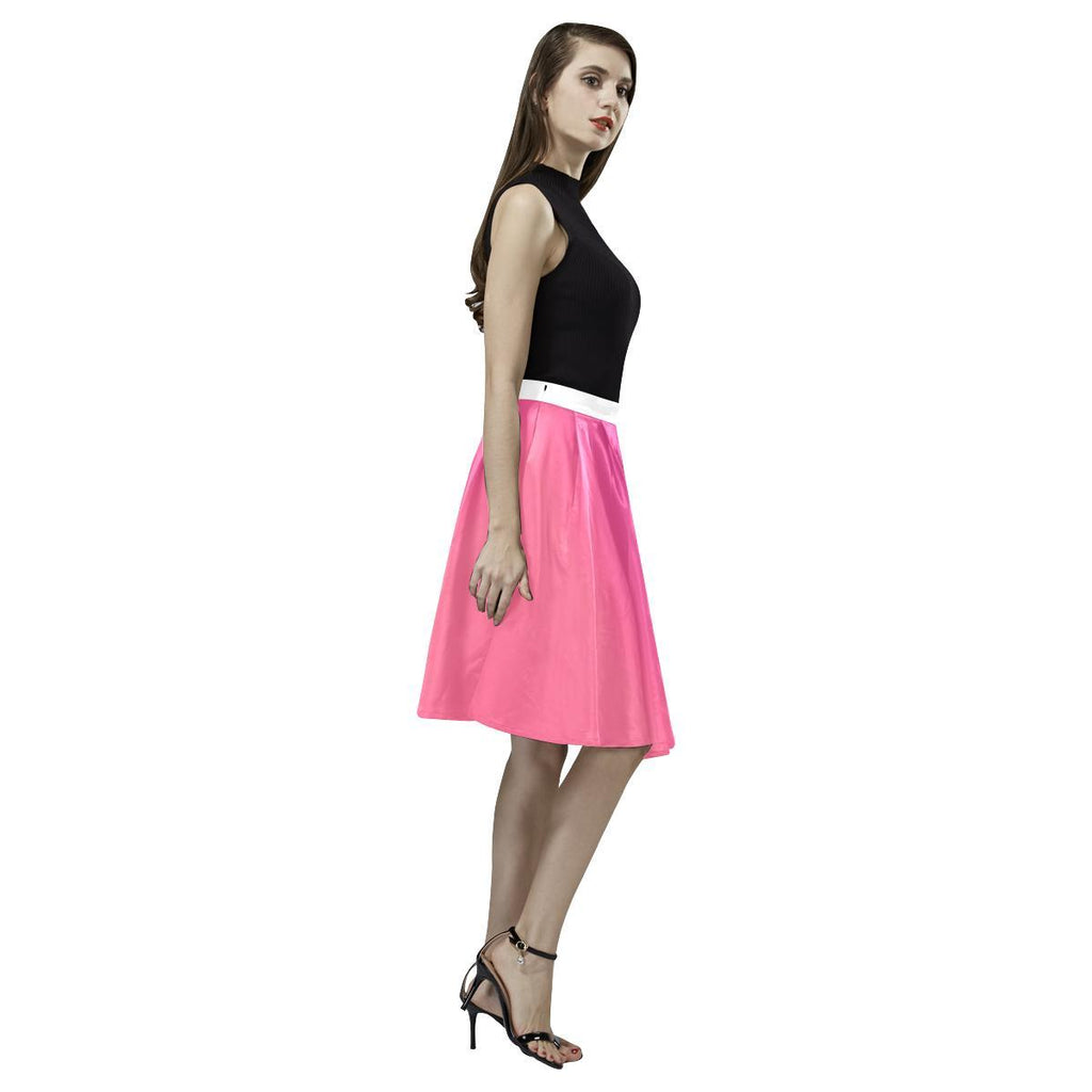Young Passion Design 1 Women's Pleated Midi Skirt-Skirts-JEFAMO