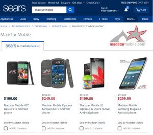 Madstar Mobile partners with Sears