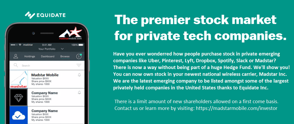 Private companies like Uber, Pinterest, Lyft and Airbnb will now contend for investors against a wireless carrier!