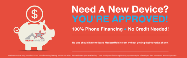 Madstar Mobile phone financing