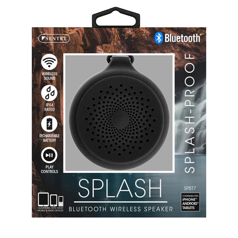 Bluetooth Wireless Speaker Splash-Proof