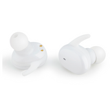 Woozik Bluetooth Earbuds 15H Playtime / Black or White