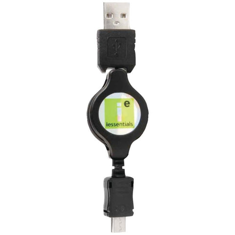 Iessentials Cell Phone Accessories Micro Usb To Usb Retractable Data Cable