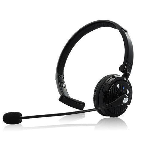 Madstar Mobile Headphones Bluetooth Headset with Boom Mic