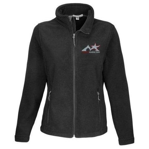 Madstar Mobile Jacket XS / black Ladies Fleece Jacket