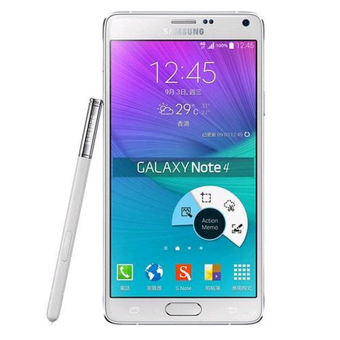 Madstar Mobile Phones white Samsung Galaxy Note 4