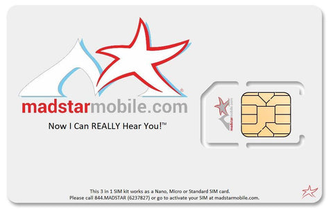 Madstar Mobile Plans SIM Card