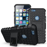 Modes Cases black iPhone 6/6S TPU Slim Rugged Stand Case Cover