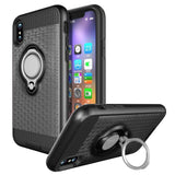 Modes Cases black iPhone X Magnet Ring Stand Case