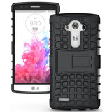 Modes Cases black LG G4 TPU SLIM RUGGED STAND CASE COVER