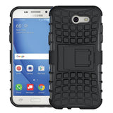 Modes Cases black Samsung Galaxy J3 TPU Slim Rugged Stand Case Cover