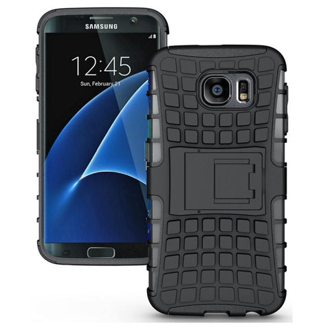 Modes Cases black Samsung Galaxy S7 TPU Slim Rugged Stand Case Cover