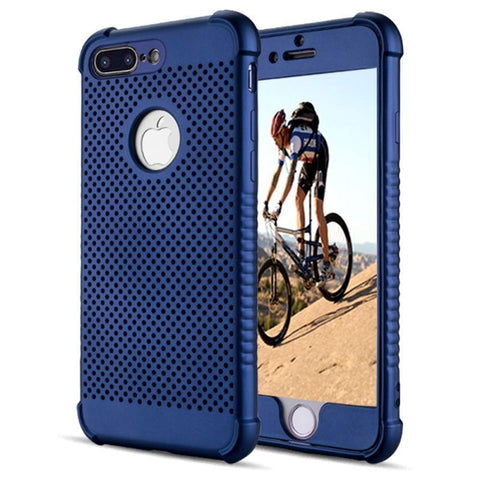 Modes Cases blue iPhone 6 / 6S Plus  Shockproof Breathable Cooling Case